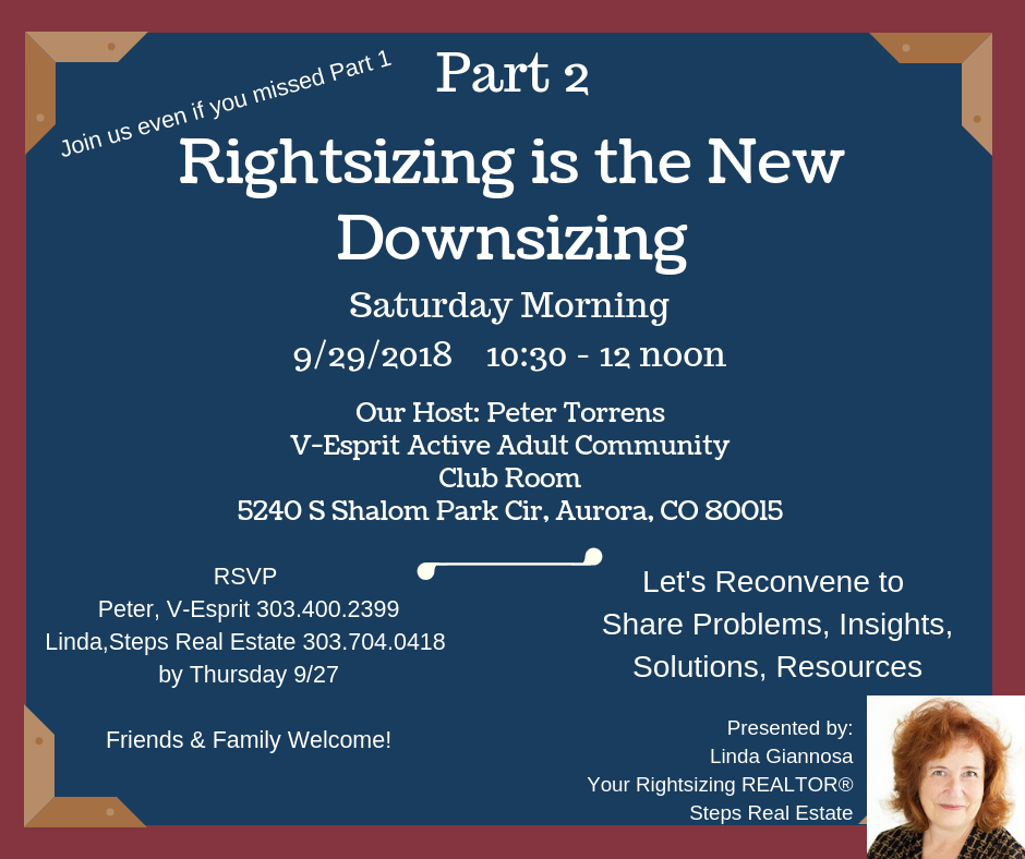 Rightsizing Seminar