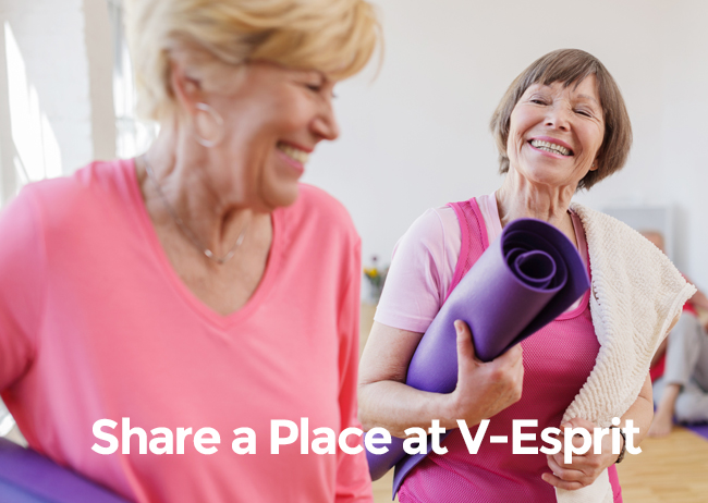 Share a Place at V-Esprit